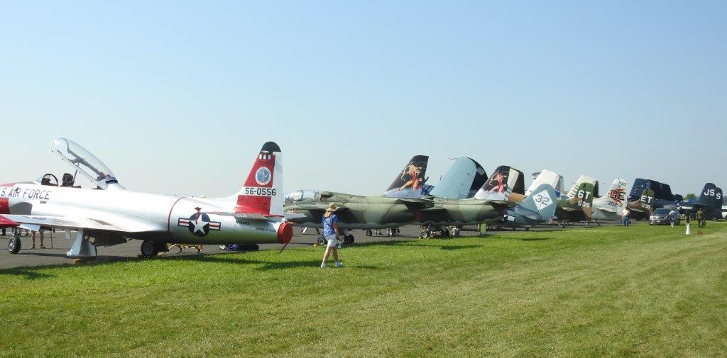 Oshkosh Jet Lineup
