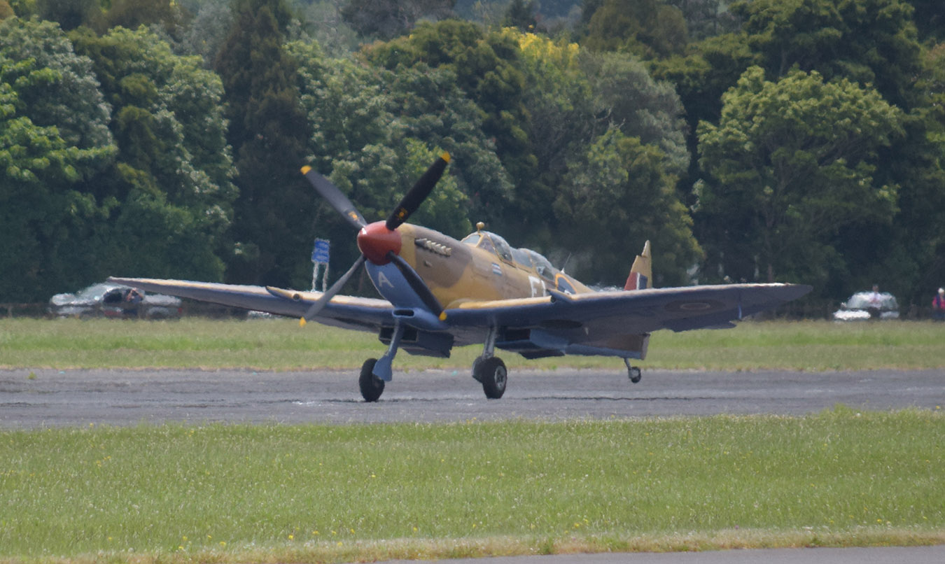 Doug Brooker's Spitfire