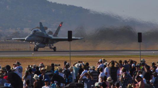 RAAF F/A-18 Hornet take-off