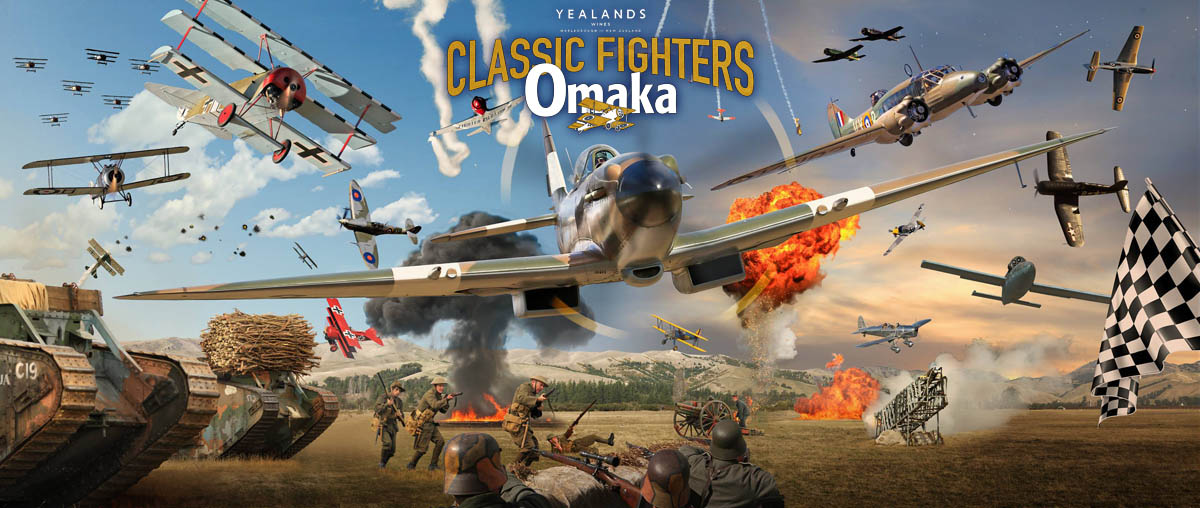 Permalink to: 2021 Yealands Classic Fighters: Omaka, NZ