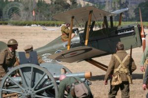 WWI theatrical display