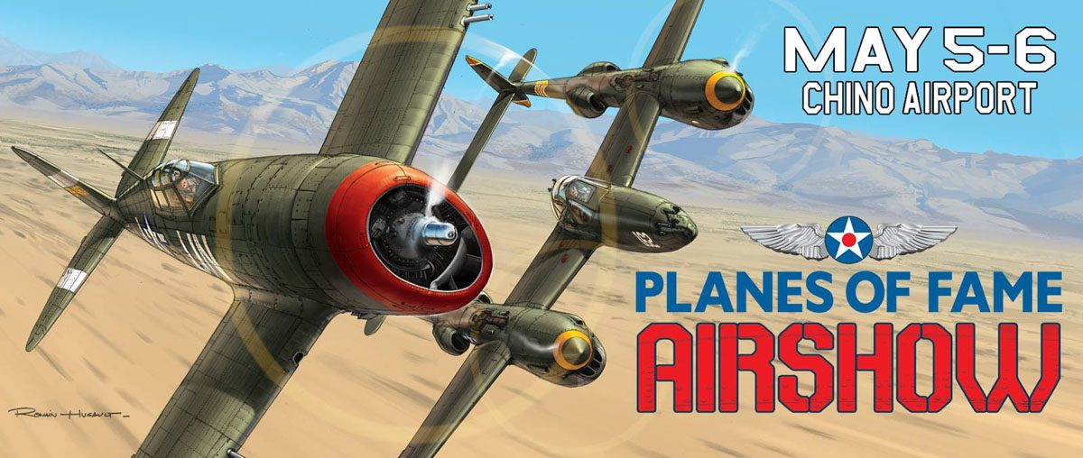 Permalink to: Planes of Fame 2018 Air Show, USA